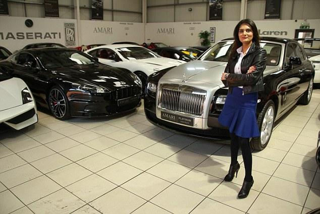 Britain's top supercar saleswoman Saba Amari reveals tricks of selling dream motors