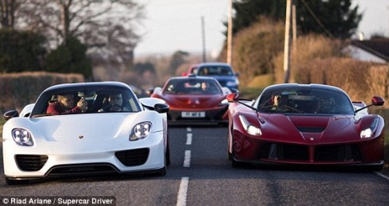 Millionaire petrol heads with 'holy trinity' of hypercars locked in a dispute with their neighbours