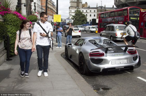 Who cares about the congestion charge? How the super-rich get around London