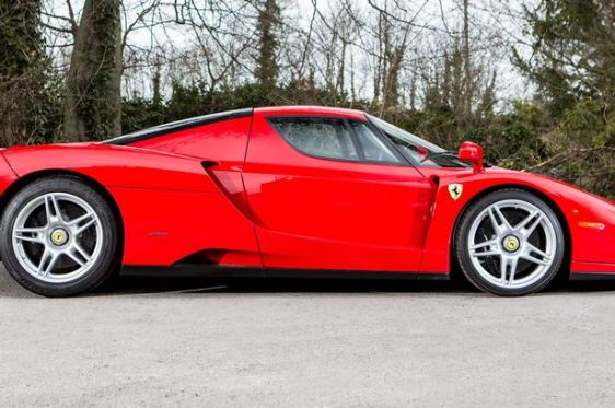 Treasury raises £1.2m by flogging supercar collection seized from crime lord dubbed 'Don Car-leone'