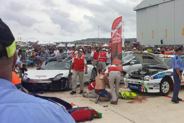 eremy Clarkson's pal is Malta supercar rally crash driver whose Porsche ploughed into crowd